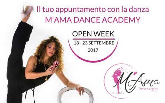 Open Week dal 18 al 23 Settembre 2017